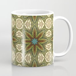 Geometric Feather Star Coffee Mug