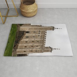 White Tower Keep Tower of London England Rug