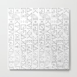 MARK Metal Print