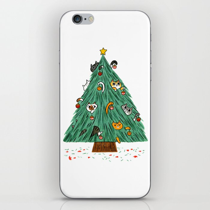 A messy Holiday iPhone Skin