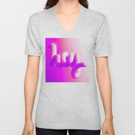 Hot Urban Hello Unisex V-Neck