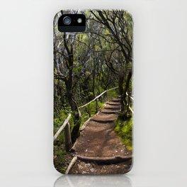 the Magic path iPhone Case