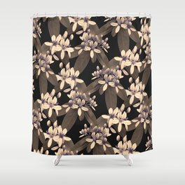 Galphimia in River Rock Shower Curtain