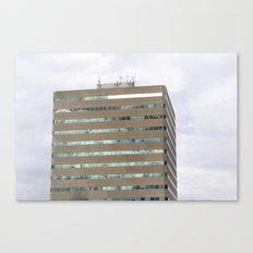 Green windows Canvas Print