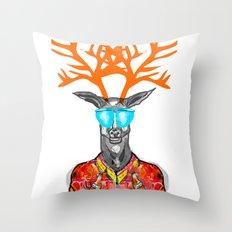 Deer Me Throw Pillow