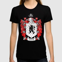 Edwards Crest and Tartan T-shirt