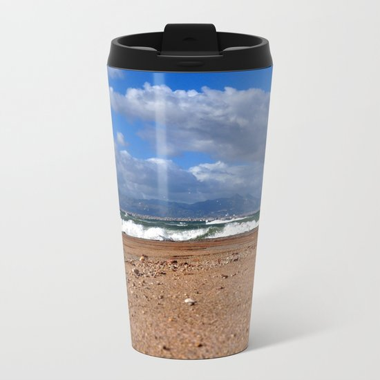 sea # Metal Travel Mug