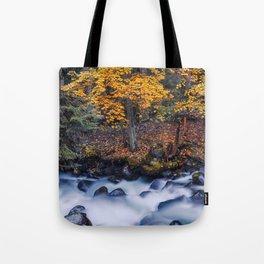Autumn River Tote Bag