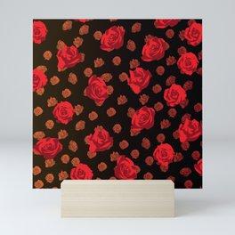 dark roses Mini Art Print