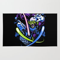 jojo Area & Throw Rugs featuring King Jojo by harebrained