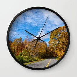 The Awesome of the Journey - The Peace Collection Wall Clock