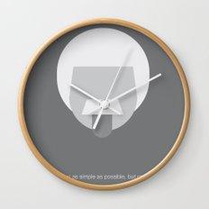 FC- Einstein Wall Clock