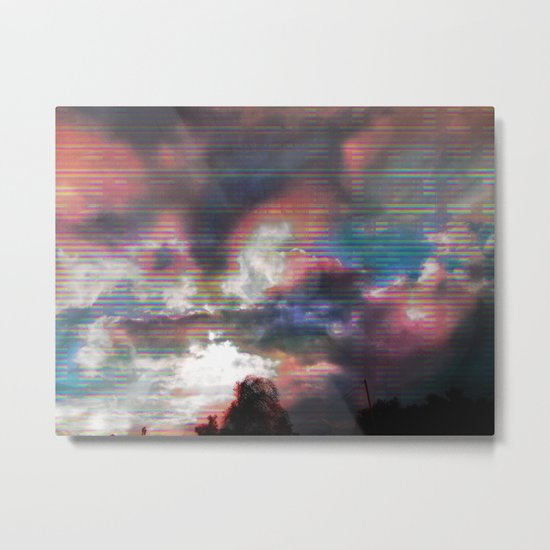 Sky View As Seen On TV Metal Print