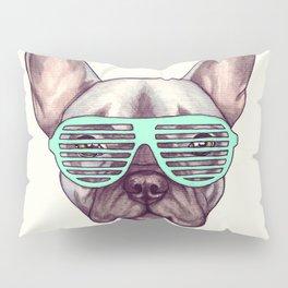 French bulldog - Livin' la vida Frenchie Pillow Sham