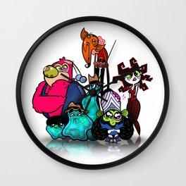 Bad Guys Wall Clock