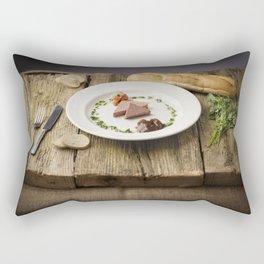Pate Anyone? Rectangular Pillow