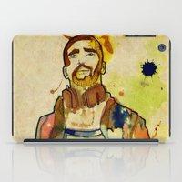 mario iPad Cases featuring Portraits, Mario by Cayena Blanca