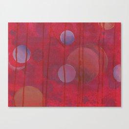 reddish sphere Canvas Print