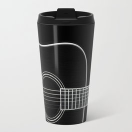 Guitar BW Travel Mug