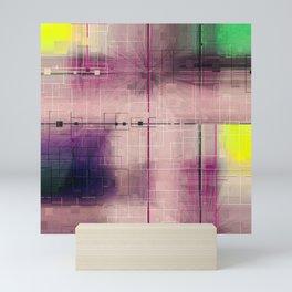 Dusk Pastel Pattern design Mini Art Print