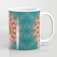 hippie Mugs featuring Hippie Sun by Jellyfishtimes