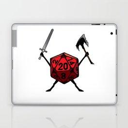 D20 Warrior Fighter Laptop & iPad Skin