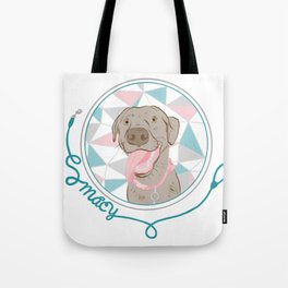 Macy the Lab Tote Bag