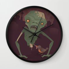 Sickly Zombie Wall Clock
