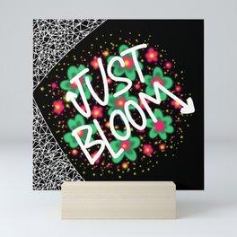 Just Bloom Spring Floral Inspiration Mini Art Print