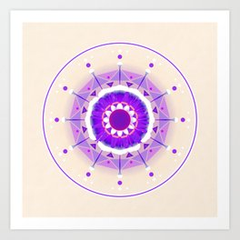 bunkou-007 Art Print