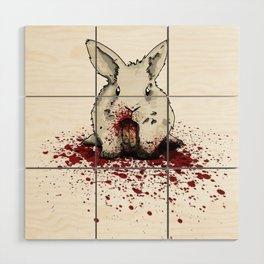 Rancid Bunny Wood Wall Art