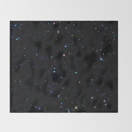 Rainbow Constellations Throw Blanket