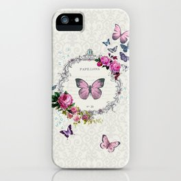 Papillons iPhone Case