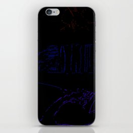 2nd Hand Dysfunction iPhone Skin