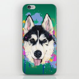 Husky Malamute iPhone Skin