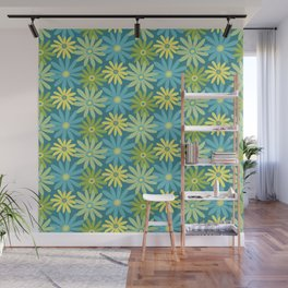 Daiseez-Jardin Colors Wall Mural
