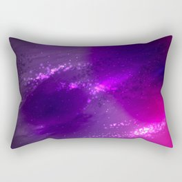 Violet nebula Rectangular Pillow