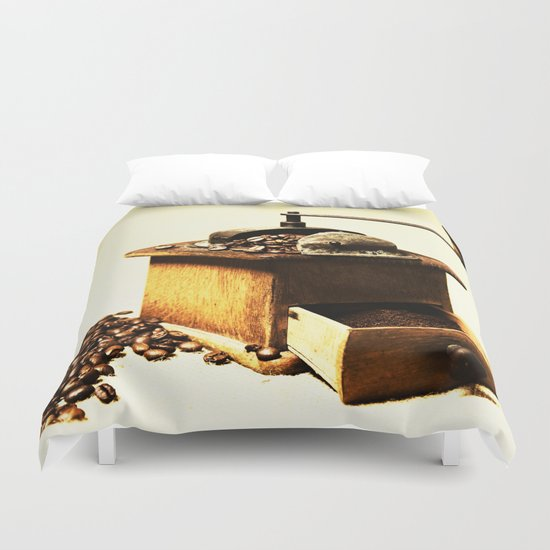 coffee grinder Duvet Cover