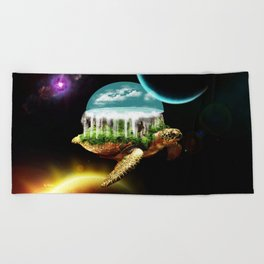 The great A Tuin Beach Towel