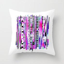 Glitch Ver.3 Throw Pillow