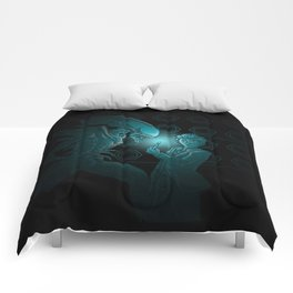 In Time and Space, No One Can hear You Scream Comforters