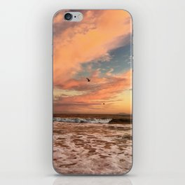 Cotton Candy Sunset iPhone Skin