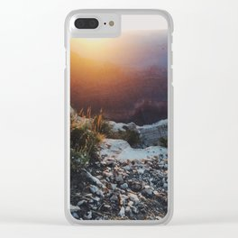 Navajo Point, Grand Canyon Clear iPhone Case