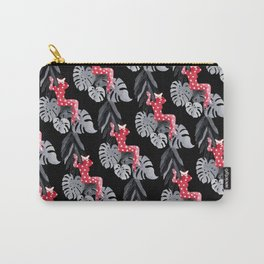 Jungle Cat Woman Carry-All Pouch