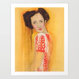Guinevere Art Print