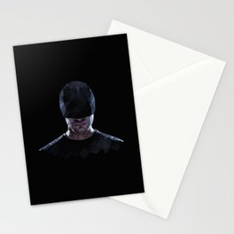 Low Poly Daredevil Stationery Cards