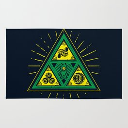 The Tribal Triforce Rug