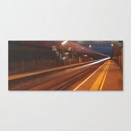 Midnight Train Canvas Print