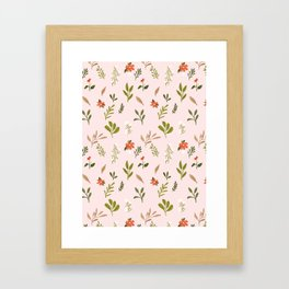 Grandmas Garden Framed Art Print