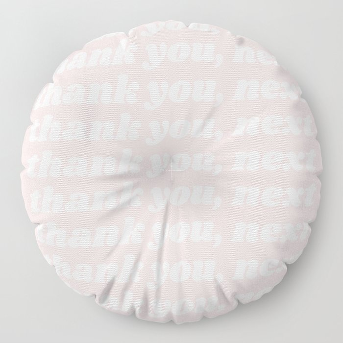 thank you, next Floor Pillow